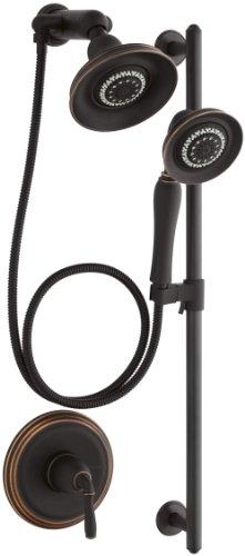 Kohler K-10825-4-2BZ Devonshire Essentials Performance Showering Package, Oil Rubbed Bronze