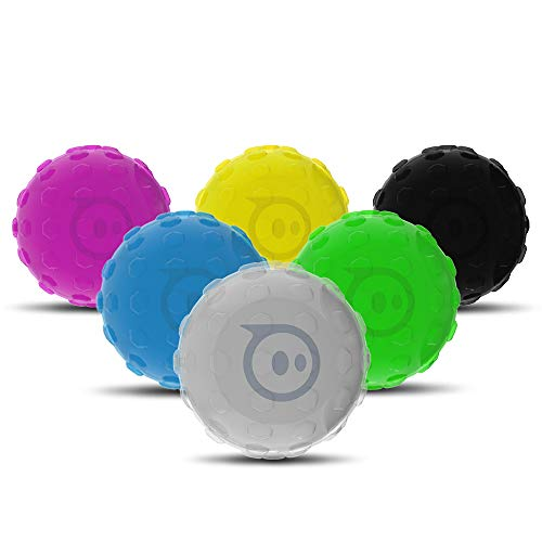 Hexnub Cover for Sphero Robotic Ball 2.0 SPRK App-Enabled Toys - Accessories to Protect Your Robot - Multi-Pack 6 Colors