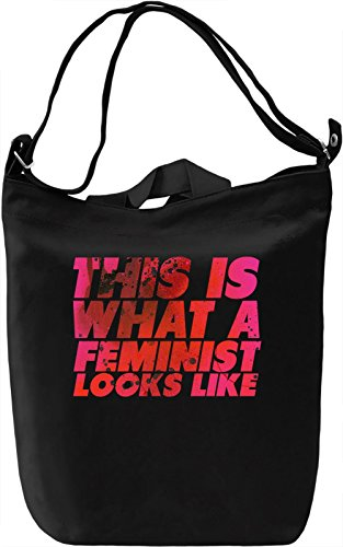 This Is What A Feminist Looks Like Borsa Giornaliera Canvas Canvas Day Bag| 100% Premium Cotton Canvas| DTG Printing|