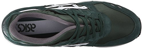 ASICS Dark GEL Men's Sneaker White Green III Lyte Retro rBr5xYw