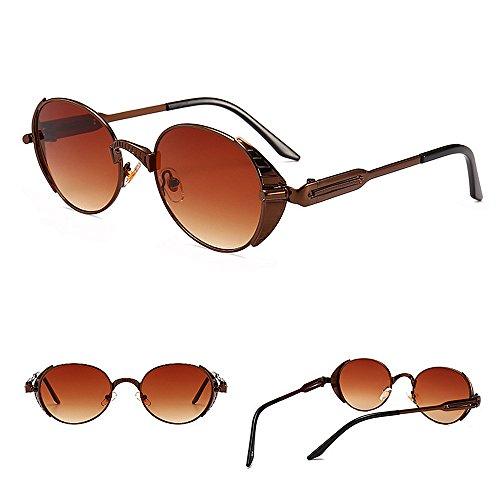 Proteccion la de la la Vendimia Tonos decoración Gafas Primavera de C3 de de del Estilo Moda de de Ojos C3 de Color Sol Steampunk xYqpaUSHp