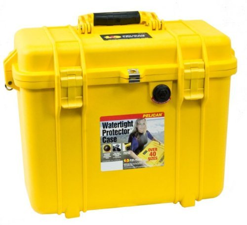 Pelican 1430NF Top Loader Case without Foam Yellow ()