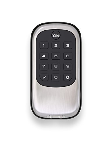Yale Security YRD110ZW619 Push Button Deadbolt, Satin Nickel