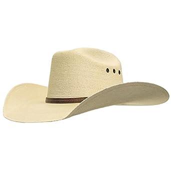 ad9891b35ad78 Amazon.com  Atwood Hat Company Maverick 7X Straw Cowboy Hat 4.25  Clothing