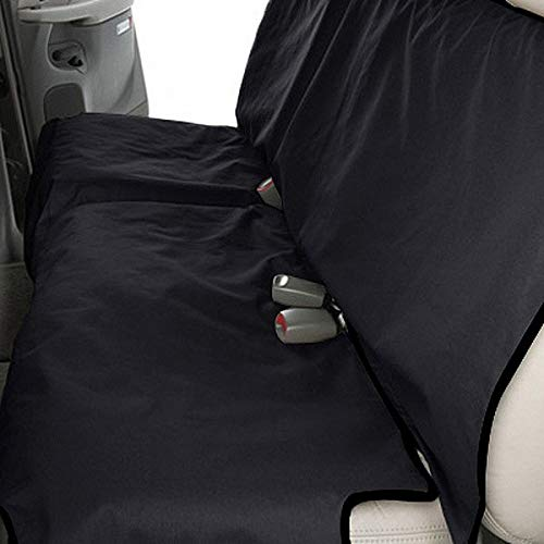 Canine Covers Econo 2nd Row Semi-Custom Fit Seat Protector - Polycotton (Black)