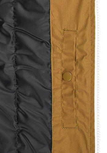 Da Cinnamon Manica Senza Tilux solid Giacca Cappuccio Uomo Piumino Gilet Di 5056 Con O0ROpB4q