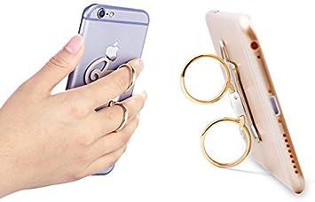 Icollect® Celular teléfono y Tablets doble anillos monta del ...