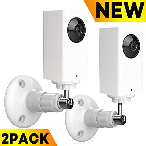 Wyze Cam Pan 360 Degree Adjustable Indoor Outdoor Mount for Wyze Cam ()