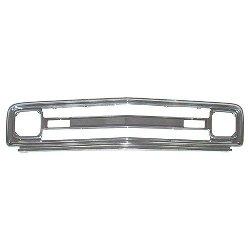 - 69-70 Chevy Pickup Blazer Suburban Outer Grille (Aluminum w/o Chevrolet letters)