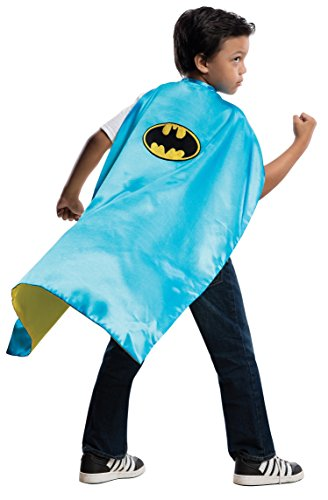 DC Reversible Batman / Robin Cape With Padded Hanger]()