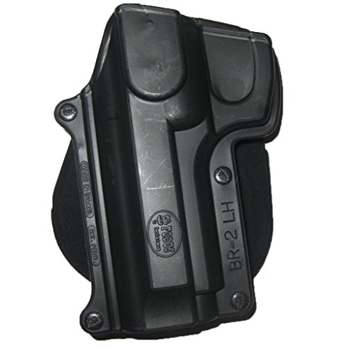 Fobus Elite Paddle (Fobus Standard Holster Left Hand Hand Paddle BR2LH Beretta 92/96 (Except Brig & Elite) / Taurus 92/99/101 / CZ75B 9mm)