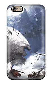 AnnaSanders Scratch-free Phone Case For Iphone 6- Retail Packaging - Battle Fantasy Abstract Fantasy