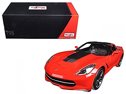 Amazon Com 2014 Chevrolet Corvette Stingray C7 Z51 Red