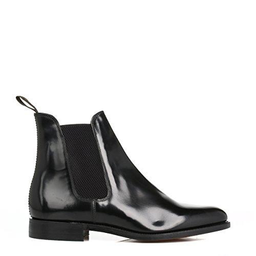 Loake Black Leather Chelsea Polished Boot 290B / EU40