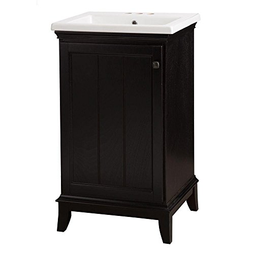 Dunsby 20-1/2 in. Vanity in Espresso wit - 18