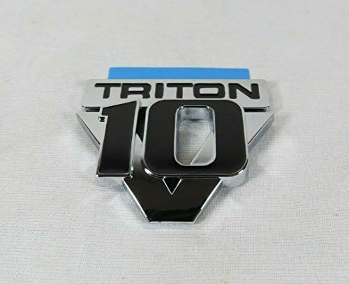Ford Triton V10 Emblem 05-07 F250 F350 F450 F550 Front Fender Badge Sign Symbol Logo