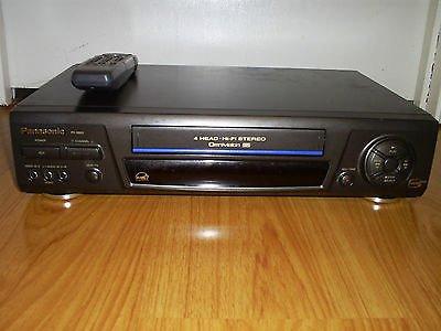 Panasonic PV-8661 Video Cassette Recorder Player VCR 4 Head Hi Fi Stereo (Player Emerson Vcr)