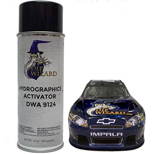 Hydrographic Film Activator Dip Wizard Hydrovator Super Sized 16 Oz Aerosol Spray Can Hydrographic Water Transfer Film Activator Hydro Dip Dipping (Best Hydro Dip Activator)