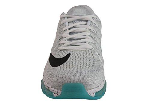Nike Menns Air Max 2016 Prm Joggesko Hvit / Hvit / Seil / Svart