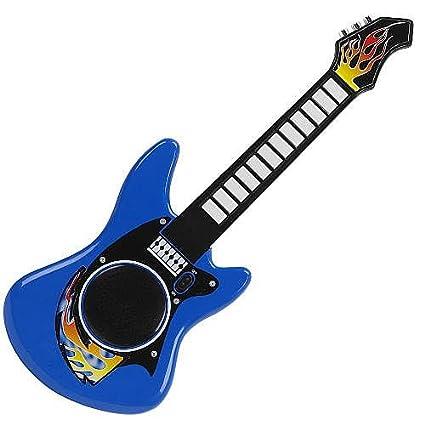 Amazon.com: Bruin ritmos Guitarra, color azul: Toys & Games