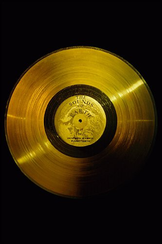 Poster Voyager Golden Record Sounds Of Earth