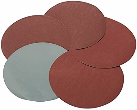 40-5000 Grit 7 Inch Hook And Loop Sand Paper Sanding Disc 180mm Dia Pad Flocking