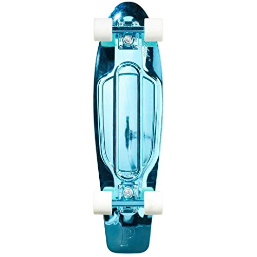 - Penny Graphic Skateboard - Blue Metallic Solid 27