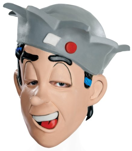 Archie Comics Jughead Overhead Latex Mask, Flesh, One Size (Archie Comic Character Costumes)