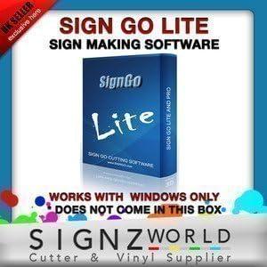 Letrero Go Lite corte Software Para LIYU, Creación Pcut & ROLAND ...
