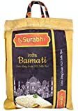 Surabhi India Basmati Extra Long Grain 1121 Sella Rice (5kg)(Pack of 1)