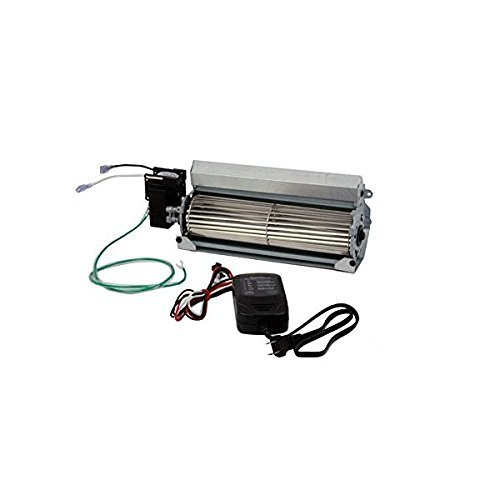 Skytech FK-165-ESC Heat and Glow Fireplace Replacement Blower and Control Kit for GFK-4, Speed Controlled, Timer Activated (Avalon Fireplace Insert compare prices)