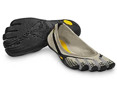 Vibram FiveFingers Womens Entrada Cream-Black-Grey Athletic Shoes