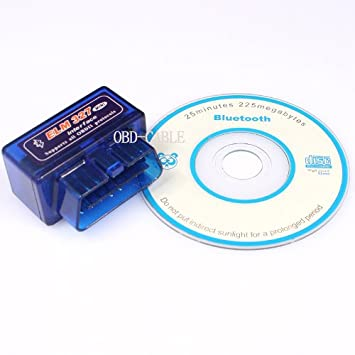 EiioX Mini ELM327 Interface V1.5 Bluetooth OBD-II OBD2 Auto Car Diagnostic Scan Tool: Amazon.es: Electrónica