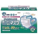 【興和新薬】ぴったりふんわり使いきりマスク 60枚入 ×3個セット