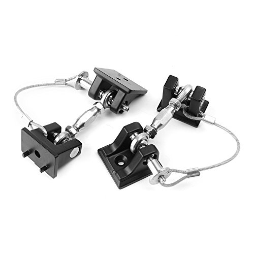 Timmart Hood Catch Lock For 2007-2017 Jeep Wrangler Jk & Unlimited by Timmart (Image #3)