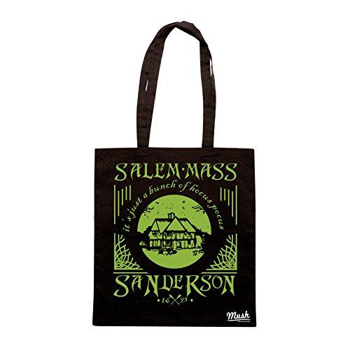 Borsa SANDERSON SISTERS SALEM MASS - Nera - FILM by Mush Dress Your Style