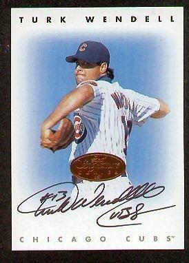 Turk Wendell signed autographed Leaf Signature Series (Series Turk)