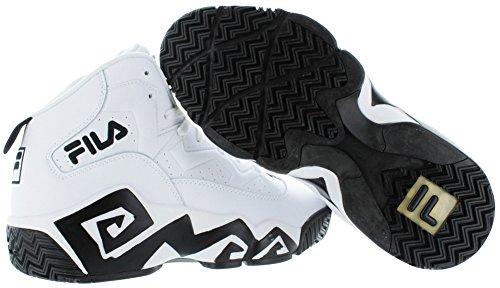 10d53a56b17 Fila MB Jamal Mashburn Retro Men s Basketball Shoes White Size 8.5 ...