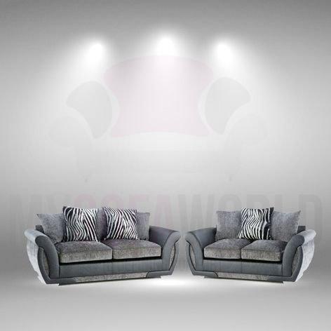 My Sofa World Visby Moderno Estilo y Comodidad sofá Suite 3 ...