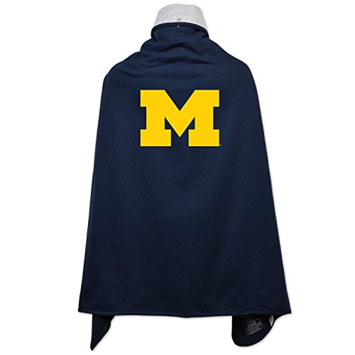 NCAA Michigan Wolverines Children Unisex Cape Drape, One Size, (Costumes Michigan)