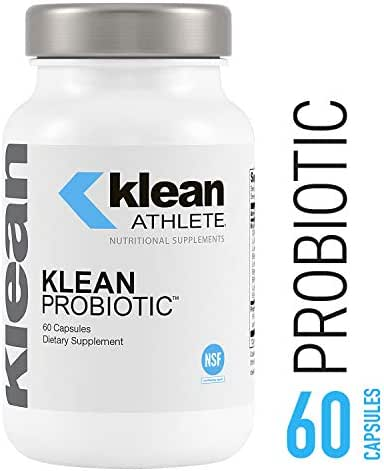 Klean Athlete - Klean Probiotic - Supports Immune System and Overall Health of The Digestive System* - NSF Certified for Sport - 60 Capsules