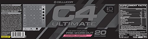 Cellucor C4 Ultimate Strawberry Watermelon 20 Servings