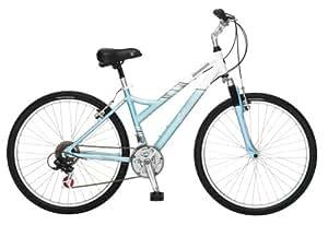 Schwinn Coronado Women's Comfort Bike (26-Inch Wheels, White/Green)