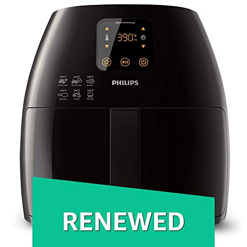 Philips HD9240/94 Avance XL Digital Airfryer (2.65lb/3.5qt), Black Fryer (Renewed) by Philips (Image #9)