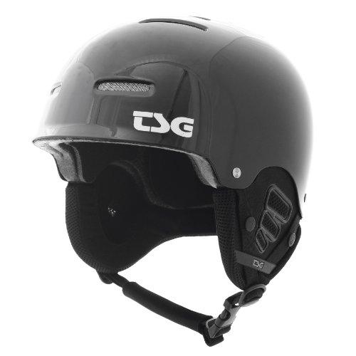 Gloss Black Ski Snowboard Helmet - 2