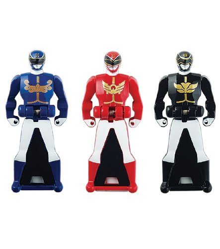 Power Rangers Super Megaforce Key Pack,키 파워 레인저 장난감 /피규어 인형/빨강/청/검정(38252)