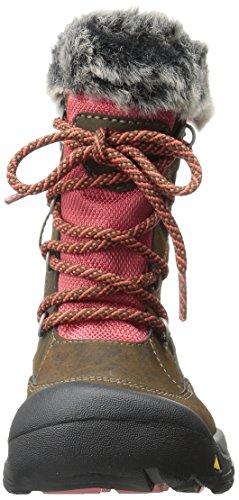 Keen Kelsey Boot WP Shoe (Little Kid/Big Kid) Cascade Brown/Rose