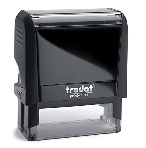 200 Ideal Ink (Custom TRODAT 4914 (Ideal 200) CUSTOM SELF-INKING ADDRESS STAMPS)