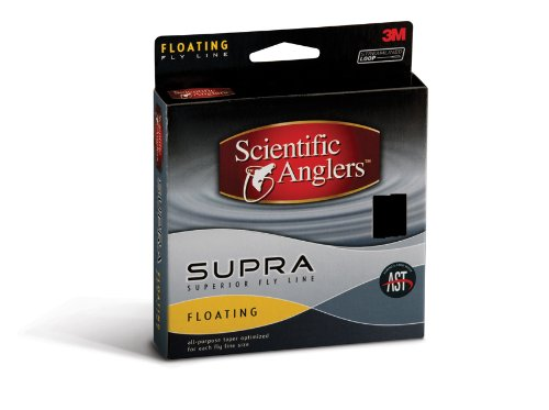 Scientific Anglers Supra Freshwater Fly Line (Weight Forward 6 Floating), Outdoor Stuffs