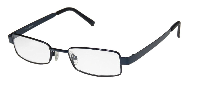 D&A Joke Mens/Womens Vision Care Simple & Elegant Rectangular Full-rim Eyeglasses/Glasses